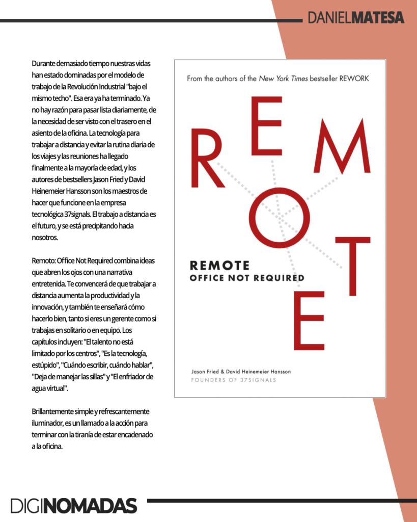 remote - libro para nomadas digitales