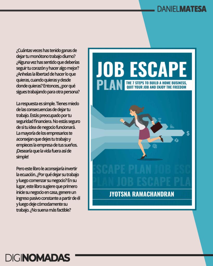 Job Escape - libro de trabajadores en remoto