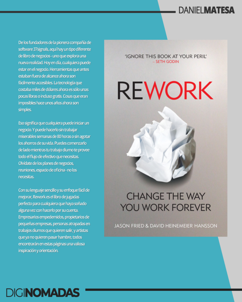 ReWork - libro para knowmads