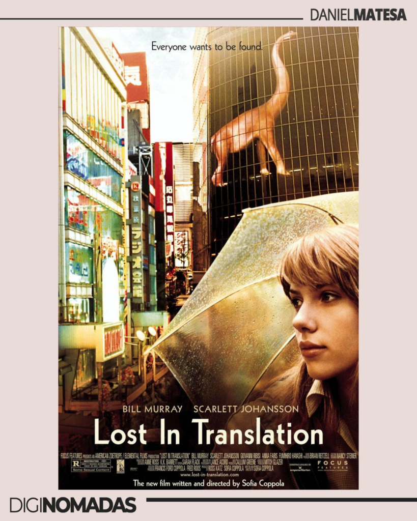 Lost in Translation - peliculas de viajes