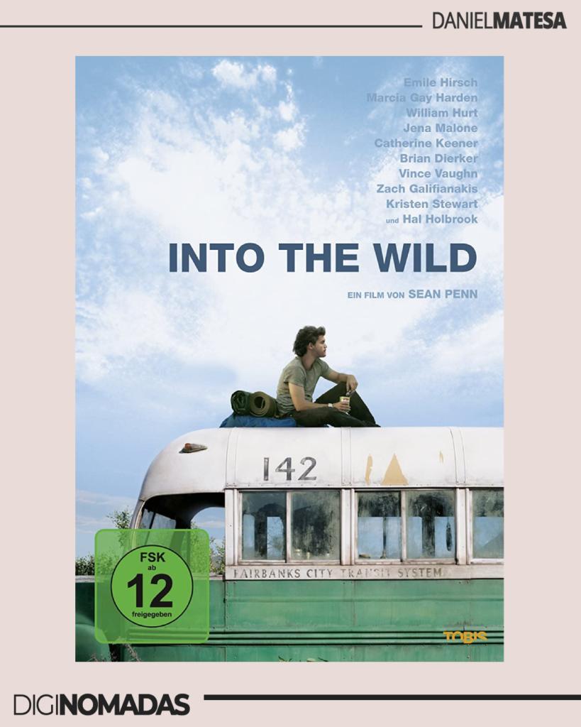 into the wild - en lo salvaje - películas para nómadas digitales