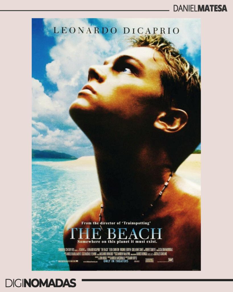 the beach - la playa - película de nómadas