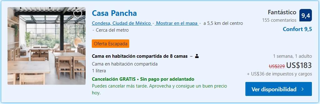 Casa Pancha - Ciudad de México