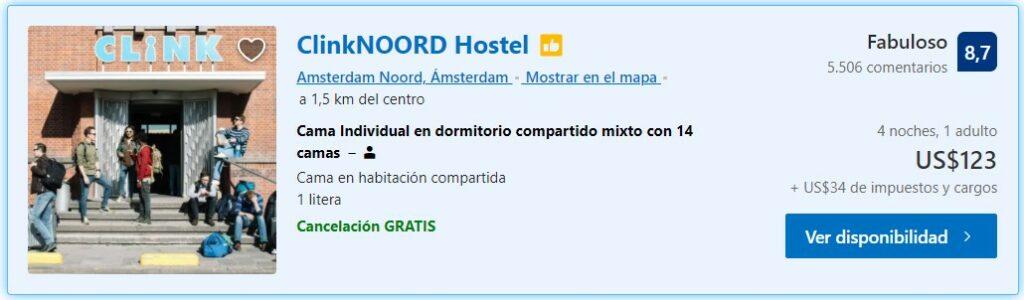 ClinkNoord Hostels Amsterdam
