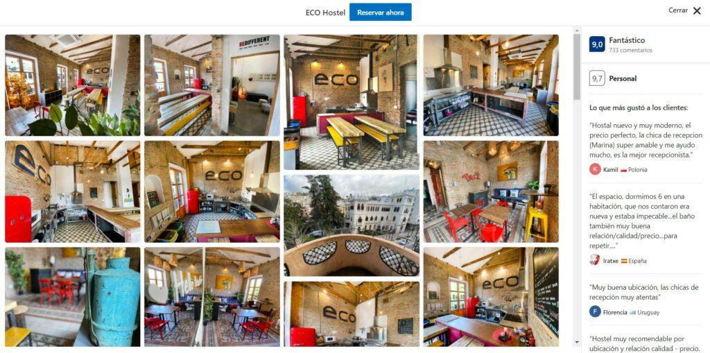 Eco Hostels España