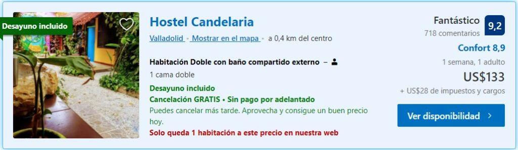 Hostel Candelaria - Hospedaje en Valladolid