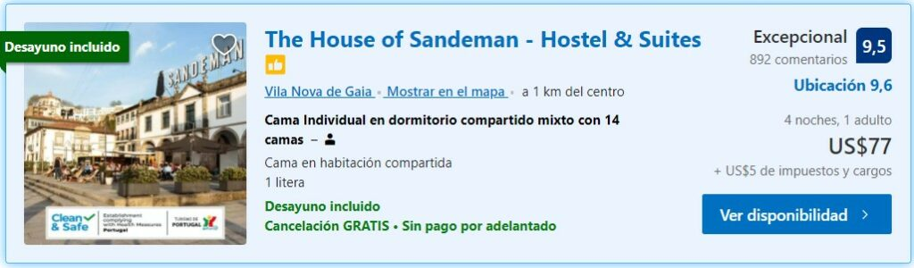 The house of Sandesman - Hostels Portugal