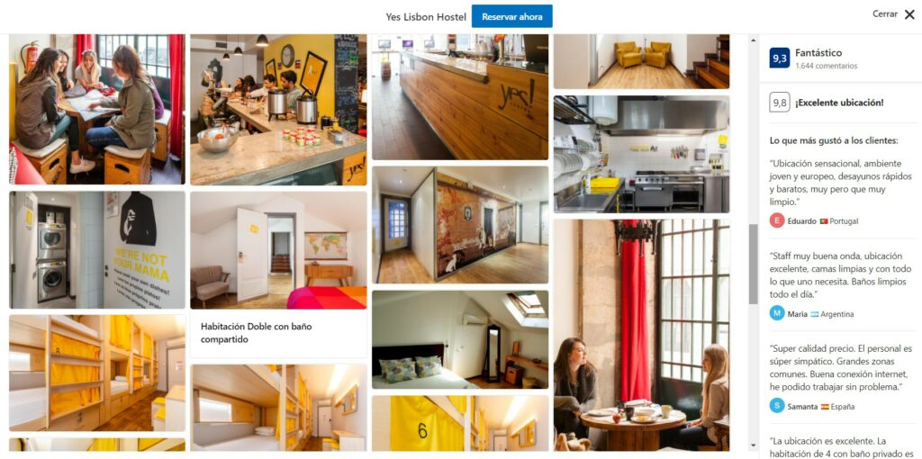 Yes Lisboa Hostels