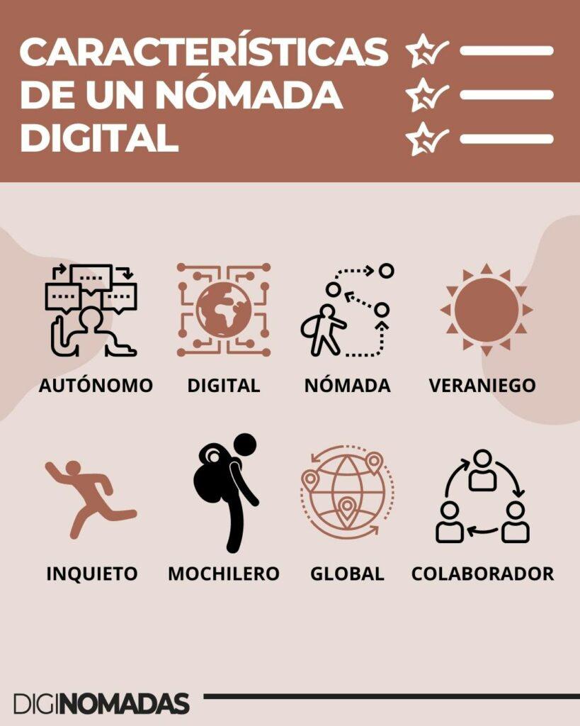 CARACTERÍSTICAS DE UN NÓMADA DIGITAL