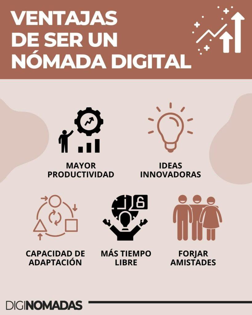 ventajas de ser nómada digital